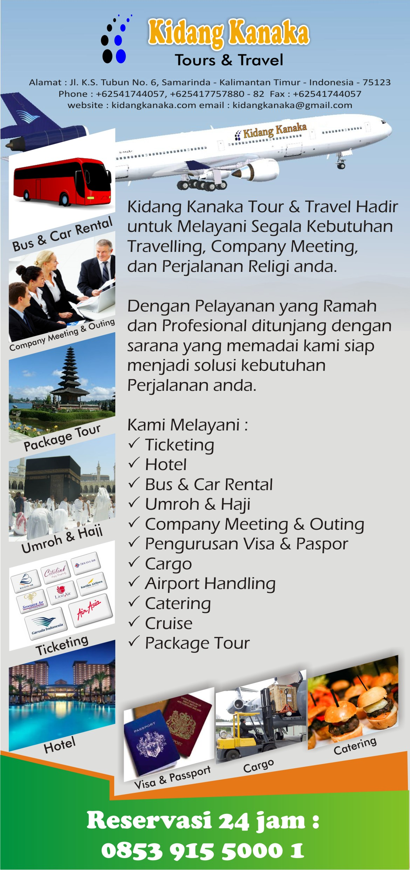 Desain Flyer Untuk Kidang Kanaka Tour & Travel – Umank