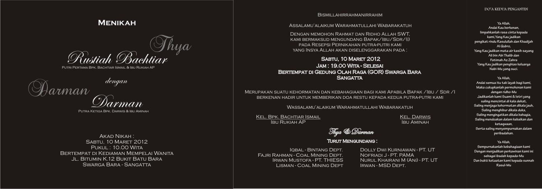 Design Undangan Pernikahan 2011 Umank Creative Design Print